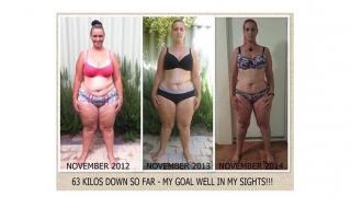 INCREDIBIL! De la 130 kg, la puţin peste 50! Vezi cum!