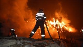De şase ori mai multe incendii zilnic decât media obișnuită