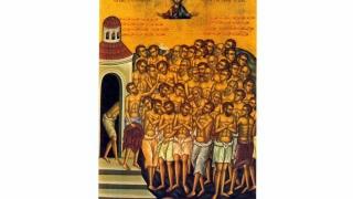 De Sfinții 40 de mucenici, la Constanța...