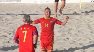 Djoker, mai tare ca Performer la fotbal pe plajă
