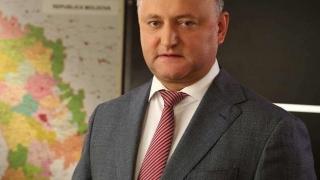 Dodon spune NU unirii Republicii Moldova cu România