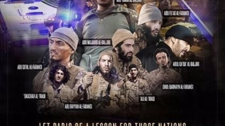Doi irakieni printre autorii atacurilor de la Paris