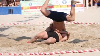 Doi juniori de la LPS Constanța, campioni naționali la lupte pe plajă