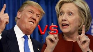 Donald Trump pare să instige la violenţă contra lui Hillary Clinton