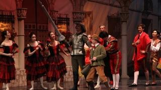 """Don Quijote"" deschide stagiunea Teatrului ""Oleg Danovski"""