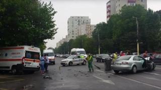 Două accidente soldate cu nouă victime! O ambulanță distrusă!