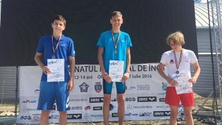 Două medalii pentru Eugen Susanu la CN de înot pentru cadeți