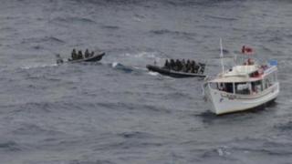 Droguri confiscate în Marea Caraibelor