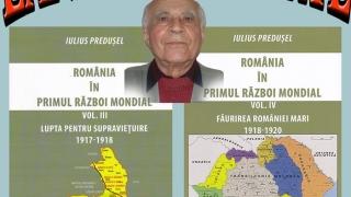 Dublă lansare de carte dedicată României în Primul Război Mondial