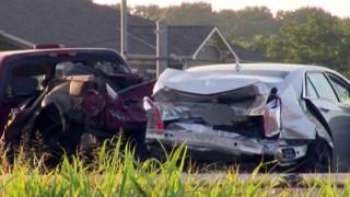 Dublu accident pe o autostradă din Franţa