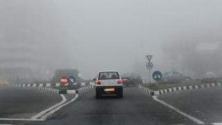 Cod galben de ceață în județele Constanța și Tulcea