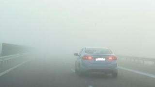 Atenție șoferi! Constanța și Tulcea, sub cod galben de ceață