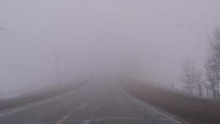 Cod galben de ceață densă în județul Constanța