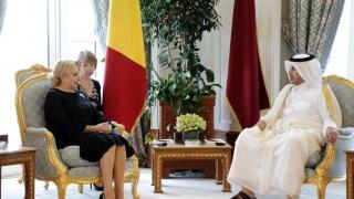 Ce a discutat premierul României cu Emirul Statului Qatar