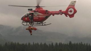 Echipajele de salvare aeriană SMURD vor utiliza troliul