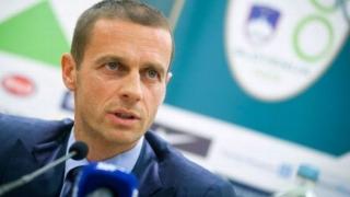 Aleksander Ceferin, reales în funcţia de preşedinte al UEFA