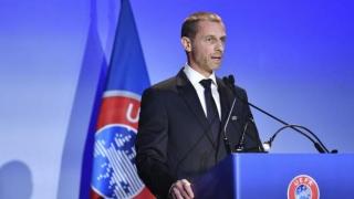 UEFA consideră prematură decizia francezilor de a întrerupe campionatul
