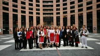 """Elevi ai Colegiului Naţional Pedagogic Constanța, la Competiţia """"Euroscola"""""""