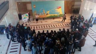 Elevi, studenţi şi cadre didactice, în vizită în Portul Constanţa