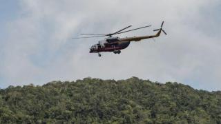 Elicopter prăbușit în Thailanda