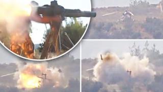 Elicopter rus, doborât în Siria