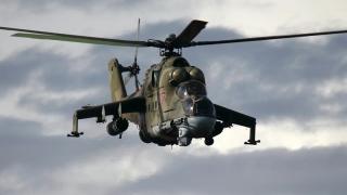 Elicopter rusesc prăbușit în Siria