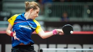 Elizabeta Samara a debutat cu dreptul la Campionatele Mondiale de tenis de masă