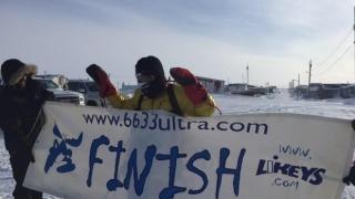 Tiberiu Uşeriu a câştigat cel mai greu maraton din lume!
