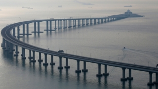 Cel mai lung pod peste mare din lume, inaugurat astăzi!