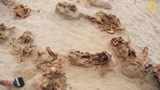 Cel mai mare loc de sacrificiu pentru copii! Sute de schelete micuţe îngropate cu faţa spre mare
