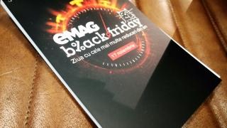 Black Friday 2017 - vânzări de 360 milioane lei la eMAG