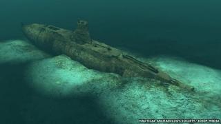 Epava unui submarin german, descoperită în Marea Nordului. Echipajul, intact