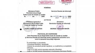 Ce spune PICCJ despre semnătura posibil falsificată a fostului şef al ICCJ