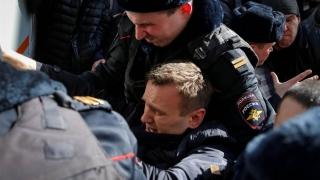 Eurodeputații critică Moscova pentru arestarea unui manifestant