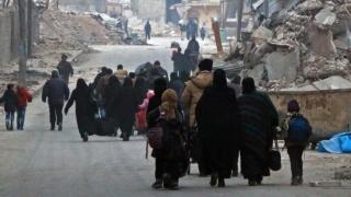 Evacuarea civililor din estul Alepului, finalizată într-o zi - două