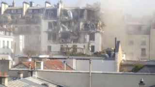Explozie în centrul Parisului