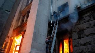 Explozie într-un bloc din Odesa