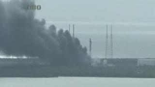 Explozie la Centrul Spaţial Kennedy