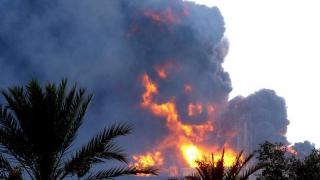 Explozie la un depozit de muniție libian