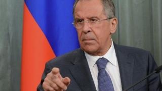 """Lavrov consideră că sancțiunile impuse de SUA Rusiei sunt """"contra-productive"""""""