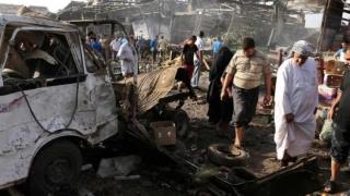 Falluja, scena mai multor atentate cu vehicule-capcană