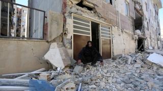 Foamete și frig după cutremur, în Iran