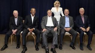 Foștii președinți americani și Lady Gaga! Eveniment caritabil pentru victimele uraganelor