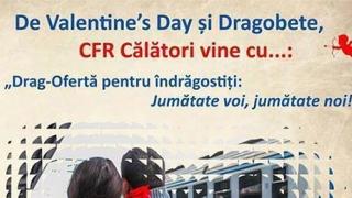"CFR: Drag-Oferta ""Jumătate voi, jumătate noi!"""