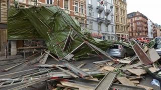 Furtună nimicitoare în Germania