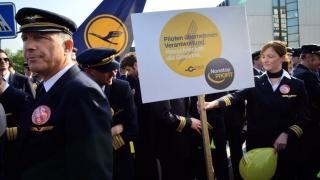 Grevă la Lufthansa: circa 900 de zboruri anulate