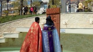 Hacikar - mărturie a prieteniei dintre români și armeni, pe faleza de la Cazino