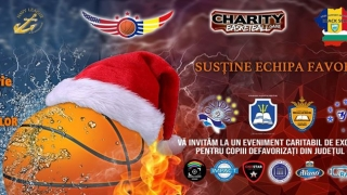 """Charity Basketball Game"", miercuri, de la ora 18.00"