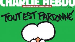 Charlie Hebdo, halucinant, după episodul Halep: Eliade şi Cioran, un hazliu şi un măscărici