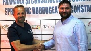 HC Dobrogea Sud a reluat pregătirile